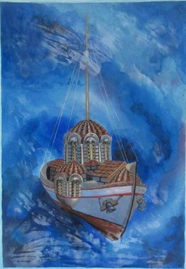 Η πνευματική ζωή ανάλογη με τη ζωή των ναυτικών... - Ιερός Ναός Αγίου Σώστη  Νέας Σμύρνης