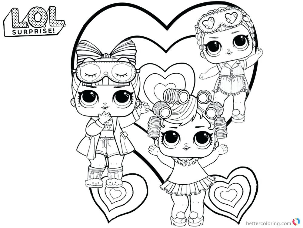 Lol Doll House Coloring Pages Coloring And Drawing