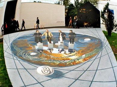 amazing painted illusion