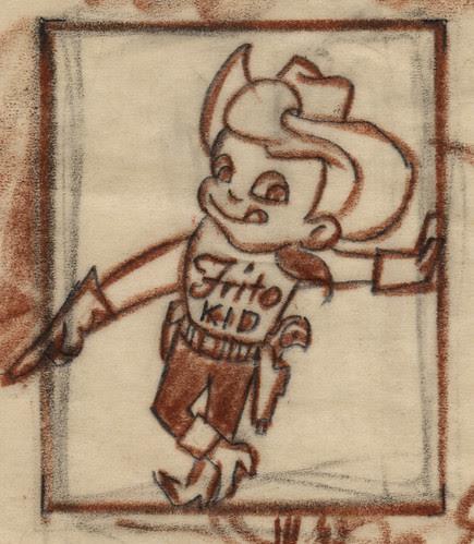 Frito Kid Illustration, 1955