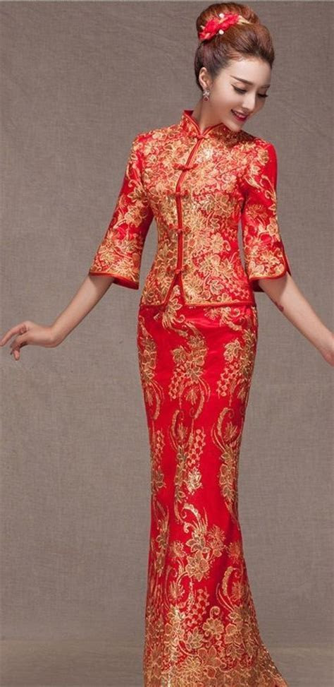 25  best ideas about Chinese Wedding Dresses on Pinterest