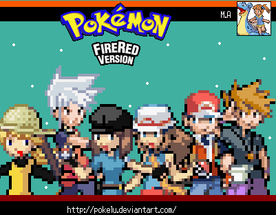 Pokemon Fire Red by PokeLu on DeviantArt