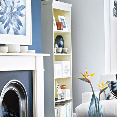 Slim Bookshelf | One Living Room, Three Sophisticated Designs ...