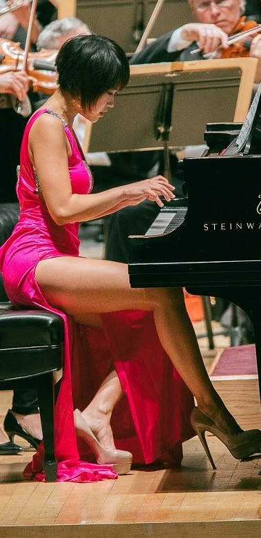 Sexy Yuja Wang Pictures Exposed (#1 Uncensored)