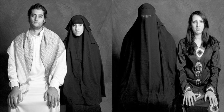 arab women and black men