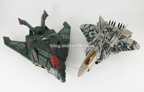 Transformers Mindwipe RotF NEST Voyager vs Starscream Voyager - modo alterno