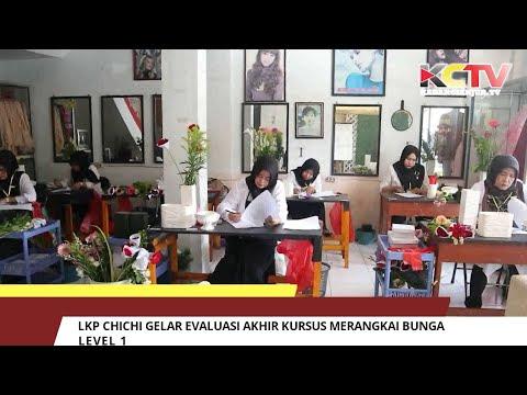 LKP Chichi Gelar Evaluasi Akhir Kursus Merangkai Bunga Level 1