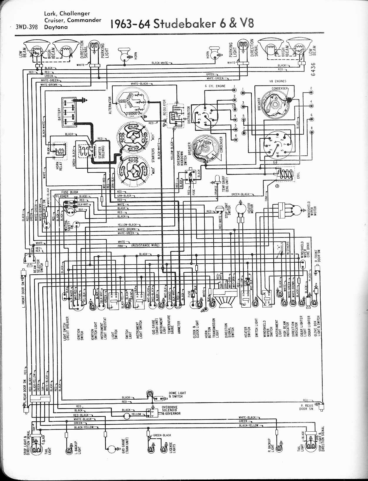 1950 Studebaker Champion Wiring Diagram