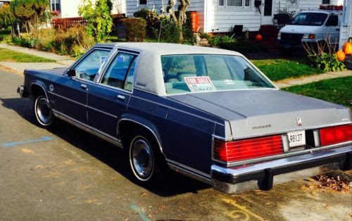 Find Used 1984 Mercury Grand Marquis Ls Sedan  0l In Milford Connecticut United States
