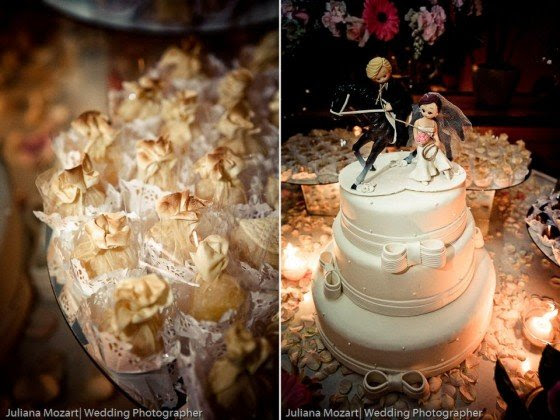 A Romantic Copper & Pink Wedding from Brazil - BirdsParty.com