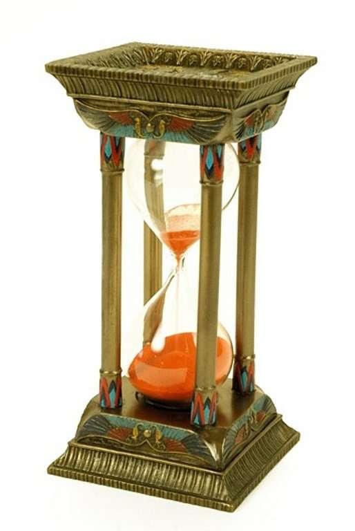 Reloj De Arena 8 X 8 X 16 Cm Decorar Con Arte