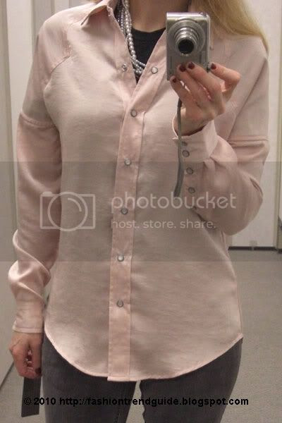 William Rast for Target pink woven blouse
