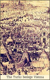 The Turks besiege Vienna