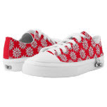Snowflakes Galore Printed Shoes