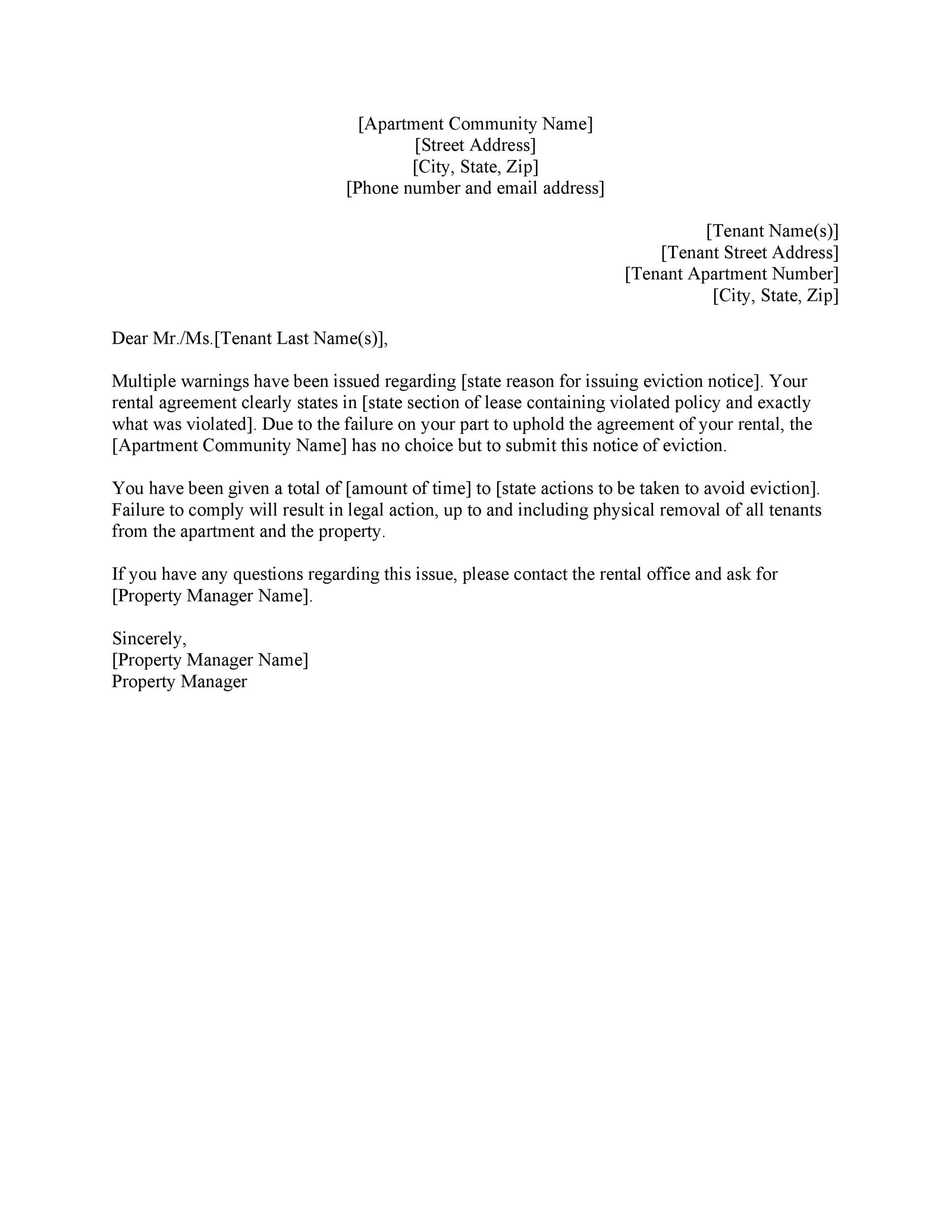 Apartment Lease Cancellation Letter from lh6.googleusercontent.com
