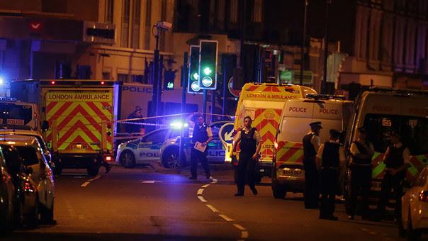Londres entró otra vez en en emergencia el domingo por la noche.