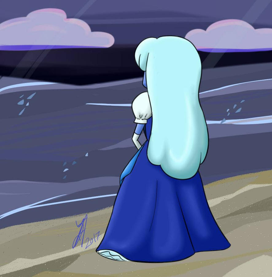 My very first Sapphire and I'm truly happy with the result. I tried to keep the background style from the show in mind and while I don't think I do the originals justice, I still feel content about...