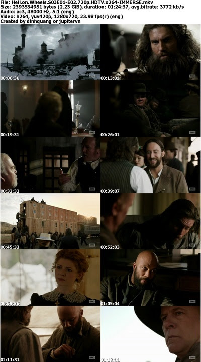 Hell on Wheels S03E01-E02 720p HDTV x264-IMMERSE