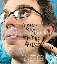 Jon-Rae Fletcher: cover of Eye Weekly(Oct 27, 2005)