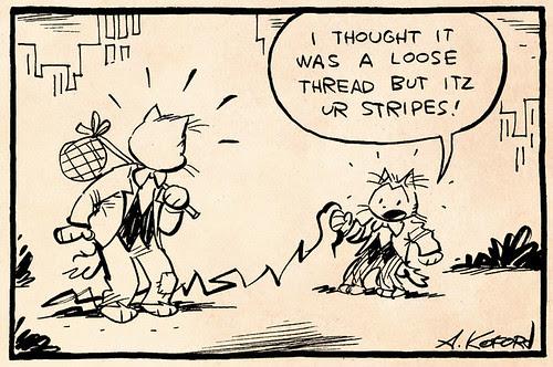 Laugh-Out-Loud Cats #1992 by Ape Lad