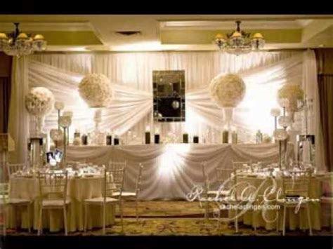 Easy DIY wedding backdrop decorating ideas   YouTube