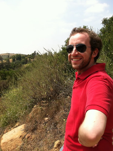Chris, after climbing the mount