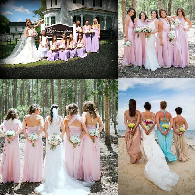 Vestido Longo de Festa (Damas De Honra) - AliExpress
