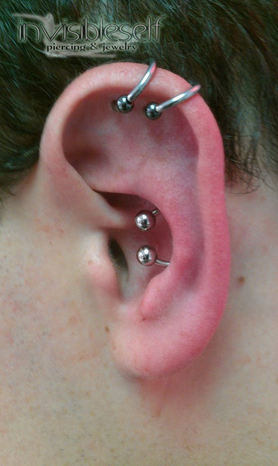 Ear Piercing Projects Invisibleself Piercing Jewelry