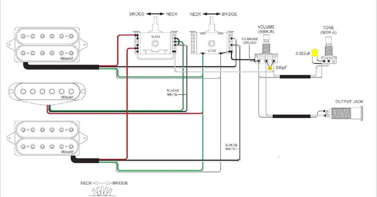 Wiring Diagram Of B Guitar