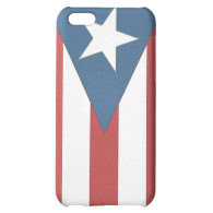 Puerto Rican Flag Case Cover For iPhone 5C