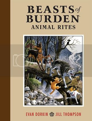 Beasts of Burden vol. 1: Animal Rites, cover by Jill Thompson