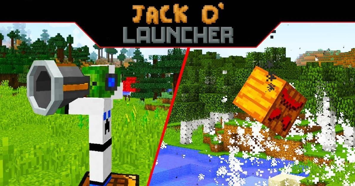 Jack O' Launcher Mod 1.14.4/1.12.2 (Portable Explosive Jack-O'-Lantern Launcher) - MINECRAFT ...