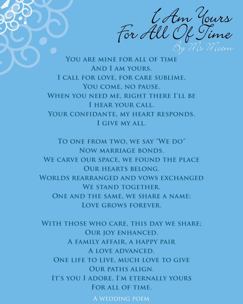 Wedding Poem Archives Page 4 Of 4 Ms Moem Poems Life Etc