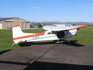 Cessna 185A ZK-CBY