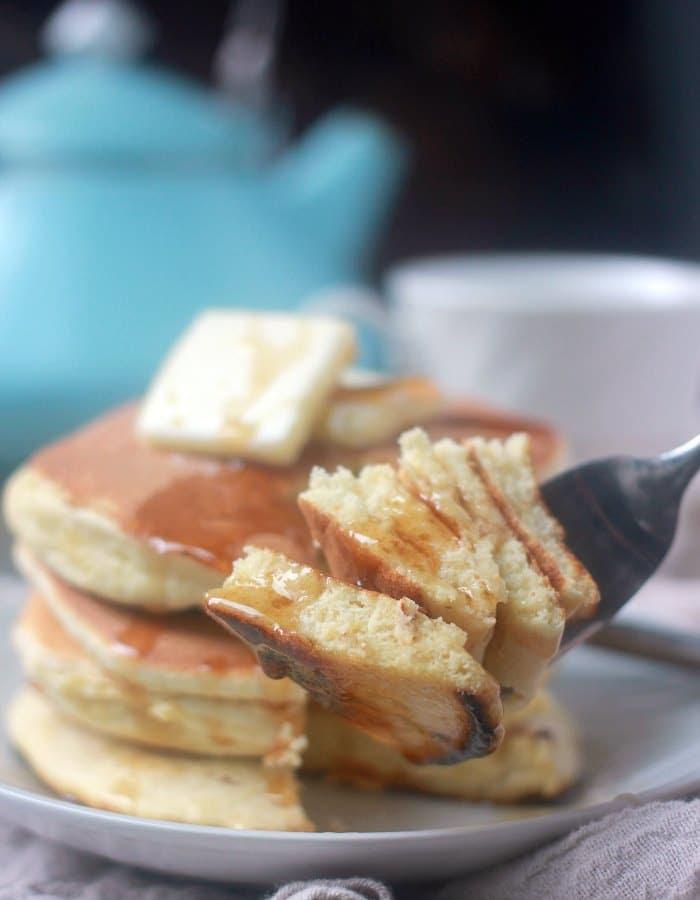 Pancakes Without Baking Powder Fluffy Souffle Pancakes Baker Bettie