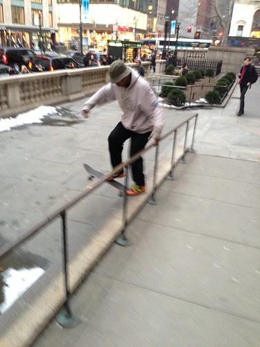 Skateboarder, NYPL