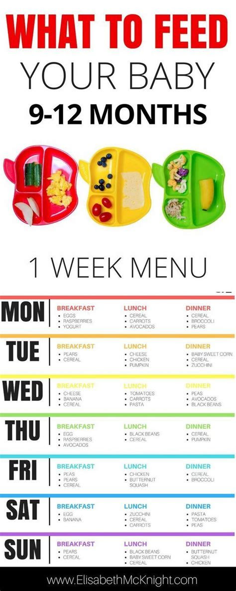 month baby feeding schedule raising bambino
