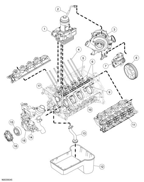 Ford 6 0 Powerstroke Engine Diagram - WIRING DIAGRAMS
