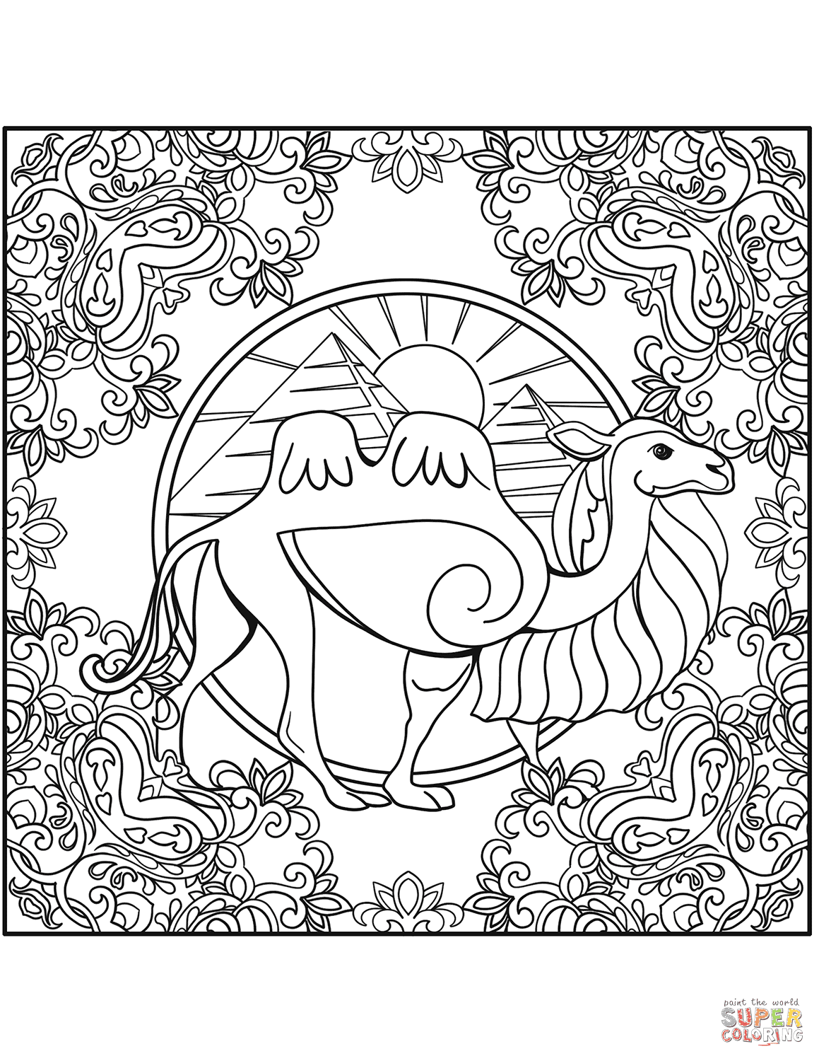 710 Top Coloring Pages Mandalas Animals  Images