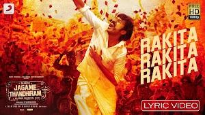 Rakita Rakita Rakita Lyrics - Dhanush, Dhee, Santhosh Narayanan