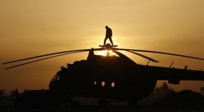 Helikopter Jatuh di Malinau Kalimantan Utara