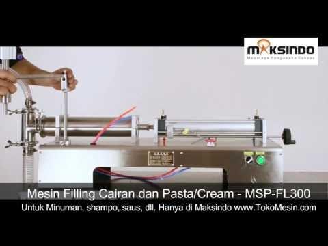 Mesin Filling Otomatis Cairan dan Pasta