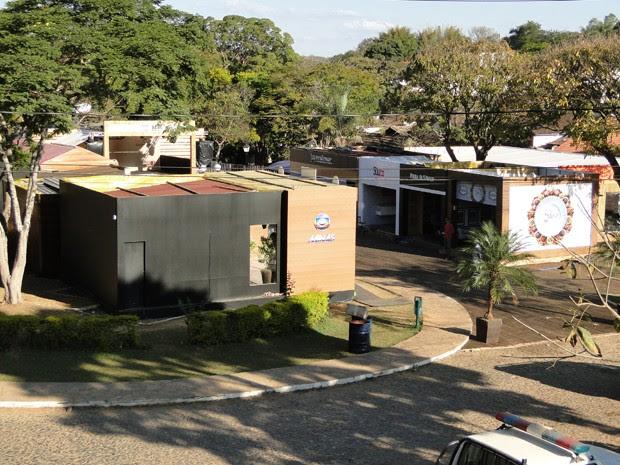 Largo do Chef, no Largo da Rodoviária (Foto: Pedro Triginelli/G1)