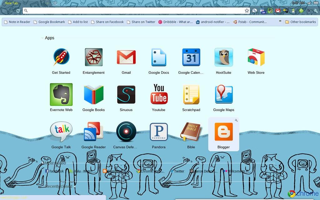 Synchonized Preferences to Chrome OS