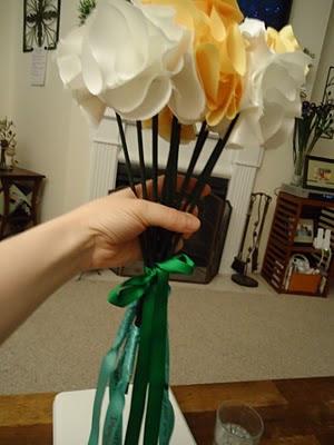 A Surprise for The Ladies: Part Two  :  wedding atlanta diy flowers reception tutorial 11 11