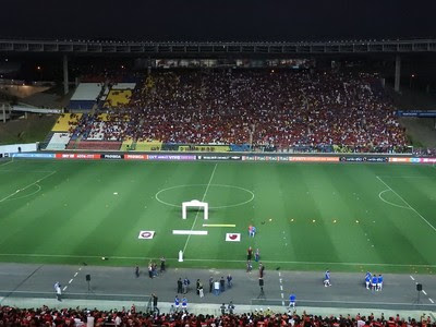 Estádio Cariacica (Foto: Fred Gomes)
