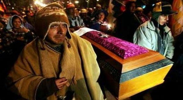 Pemakaman Suku Quechua (Foto: Reuters)