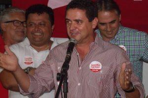 Charliton Machado durante a campanha petista de 2014
