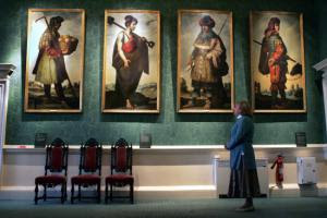 The Zurbarans have hung in Auckland Castle for more than 200 years.
