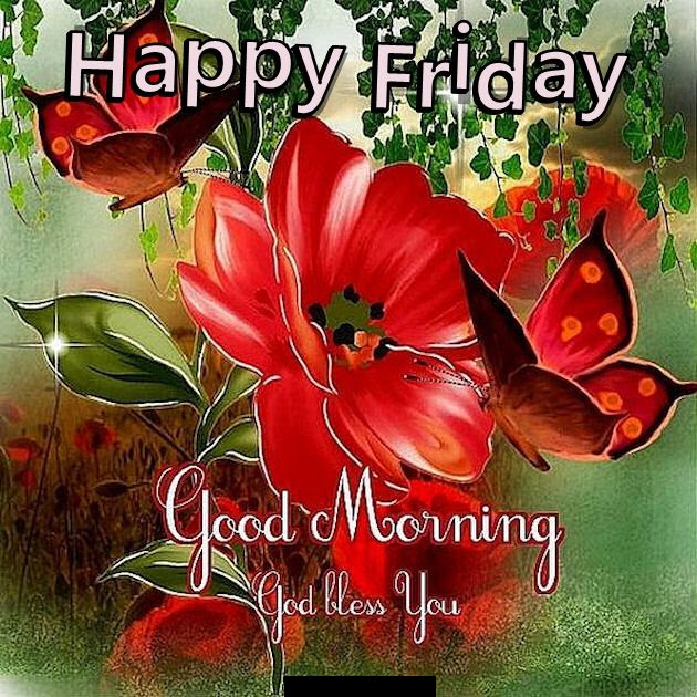 Happy Friday Good Morning God Bless You Quote Pictures Photos And